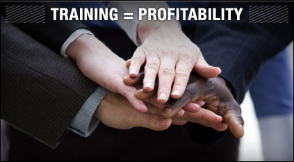 Training Equals Profitability